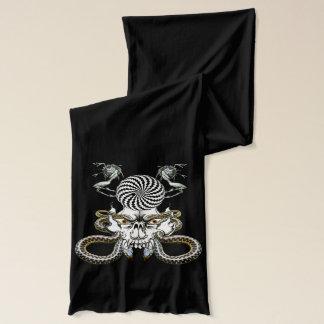 Psycho Shull and goblin buddies neck scarf