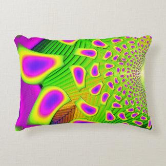 PsychoBerries 3d Glass Fractal Decorative Cushion