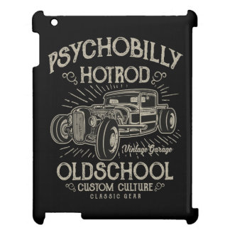 PsychoBilly HotRod IPAD/IPAD MINI, IPAD AIR CASE iPad Covers