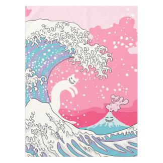 Psychodelic Bubblegum Kunagawa Tablecloth