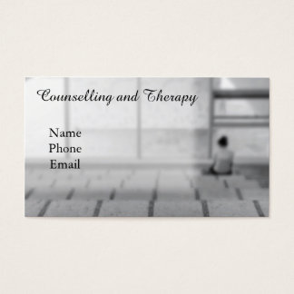 Psychological Clinic or Therapist. Business Card