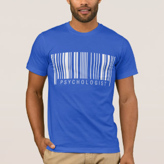 Psychologist Barcode T-Shirt