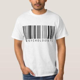 Psychologist Barcode Tee Shirts