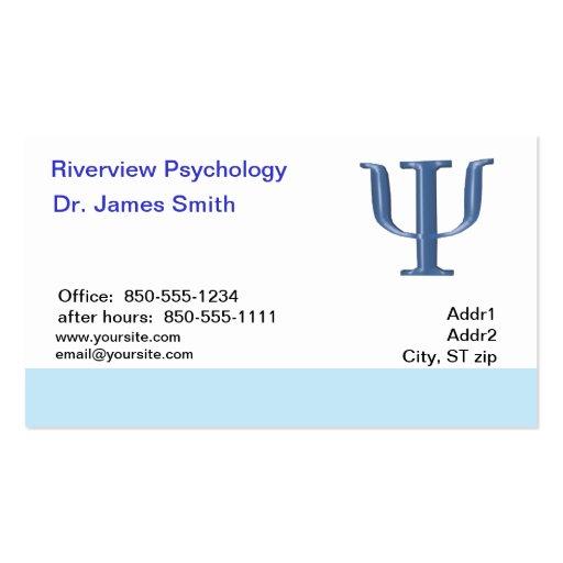 Psychologist Business Card Zazzle