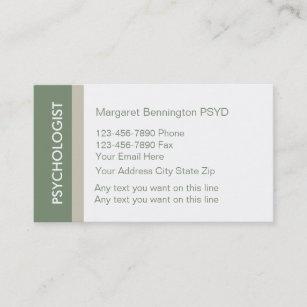 Clinical psychology business cards zazzle au psychologist business cards colourmoves