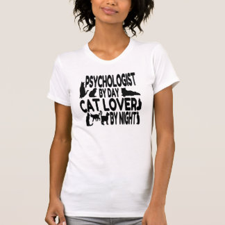 Psychologist by Day Cat Lover by Night T Shirts