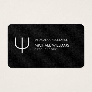Psychologist - Elegant professional Symbol Business Card