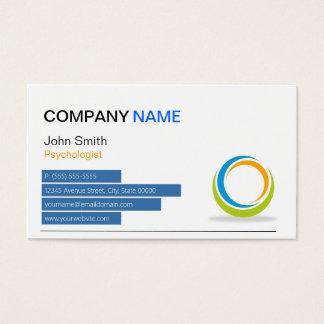 Psychologist - Modern Sphere Business Card