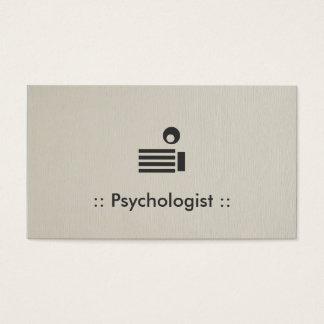 Psychologist Simple Elegant Professional Business Card