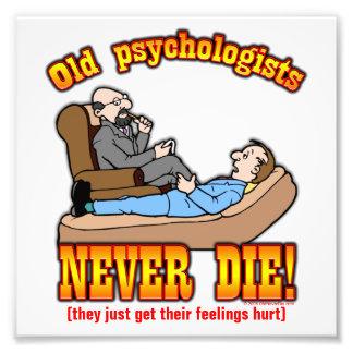 Psychologists Photographic Print