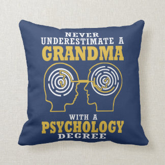 Psychology Grandma Cushion