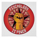 Psychology Is Power Poster