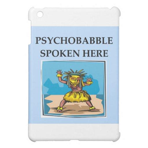 psychology joke iPad mini cases