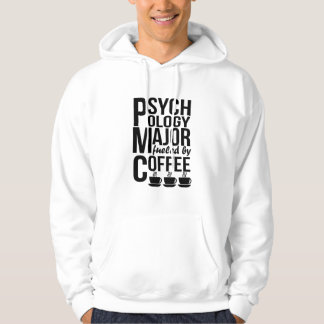 Psychology Major Fueled By Coffee Hoodie
