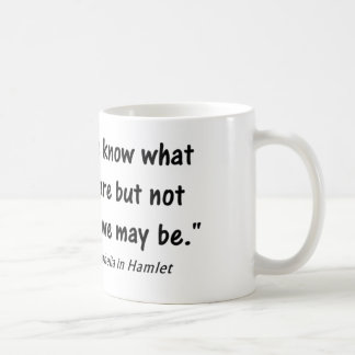 Psychology Quote We know Not Coffee Mug