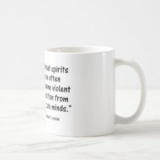 """Psychology Quotes:  """"Great spirits have often over Coffee Mug"""