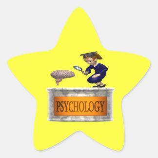 Psychology Star Sticker