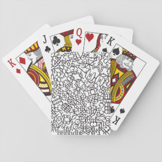 Psychosyllabary Playing Cards