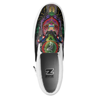 Psychotic Creation Slip On Shoes