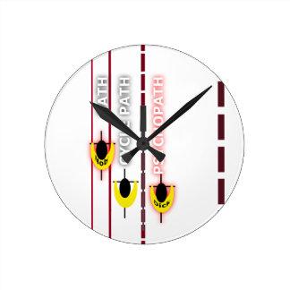 psycle path round clock