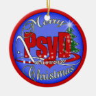PsyD CHRISTMAS ORNAMENT DOCTOR OF PSYCHOLOGY