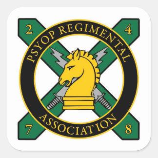 PSYOP Regimental Association Sticker