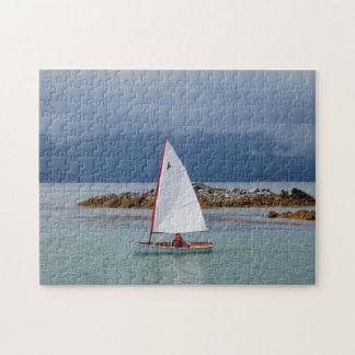 PT11 nesting dinghy scenic sailing puzzle