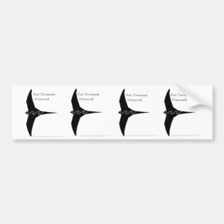 PT11 Pacific Swift Stckers Bumper Sticker