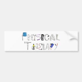 PT at Work Bumper Sticker