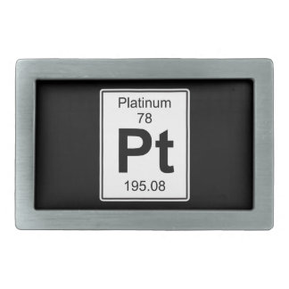 Pt - Platinum Belt Buckle