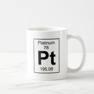 Pt - Platinum Coffee Mug