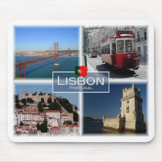 PT Portugal - Lisbon - Mouse Pad