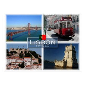 PT Portugal -  Lisbon - Postcard