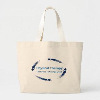 PT Power To Change Lives Jumbo Tote Bag
