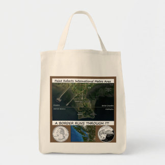 Pt Roberts grocery tote bag