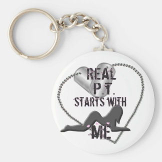 PT STARTS WITH ME 2 BASIC ROUND BUTTON KEY RING