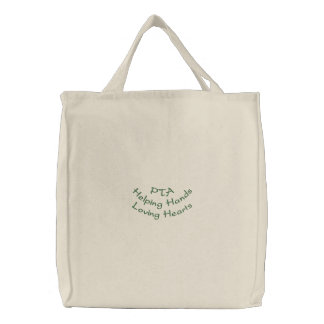 PTAHelping HandsLoving Hearts Canvas Bags