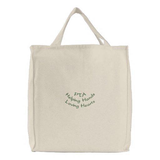 PTAHelping HandsLoving Hearts Canvas Bag