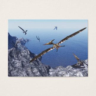 Pteranodon birds - 3D render Business Card