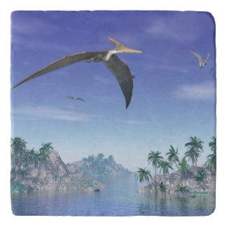 Pteranodon birds  - 3D render Trivet