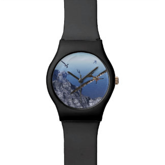 Pteranodon birds - 3D render Wristwatch