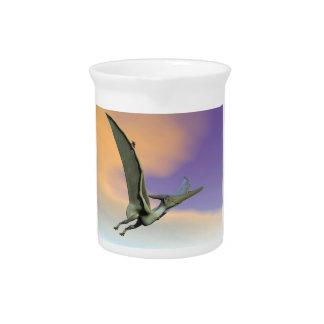 Pteranodon dinosaur flying - 3D render Pitcher