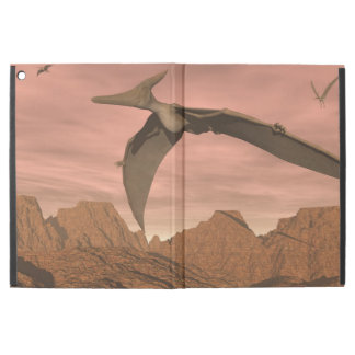"Pteranodon dinosaurs flying - 3D render iPad Pro 12.9"" Case"