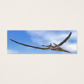Pteranodon dinosaurs flying - 3D render Mini Business Card