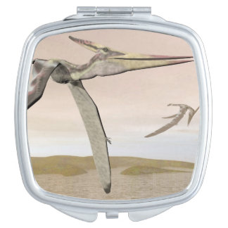 Pteranodon dinosaurs flying - 3D render Mirror For Makeup