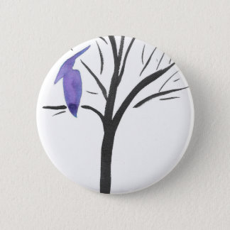 Pterodactyl In A Tree 6 Cm Round Badge