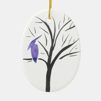 Pterodactyl In A Tree Ceramic Ornament