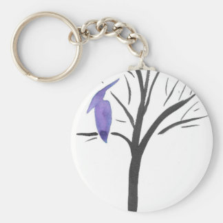 Pterodactyl In A Tree Key Ring