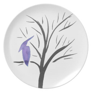 Pterodactyl In A Tree Plate