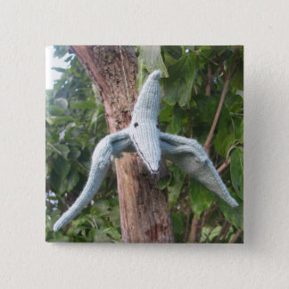 Pterodactyl pin-back button